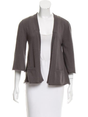 Alexander Wang Long Sleeve Knit Cardigan None