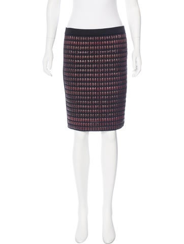 Alexander Wang Woven Bandage Skirt w/ Tags None