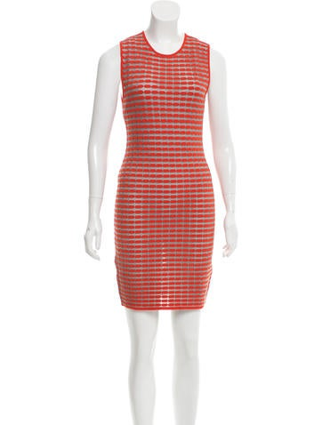 Alexander Wang Patterned Knit Dress None