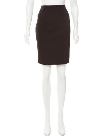 Alexander Wang Fitted Knee-Length Skirt w/ Tags None