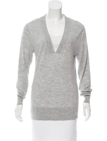 Alexander Wang Cashmere V-Neck Sweater None
