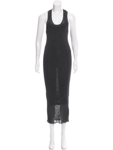 Alexander Wang Rib Knit Maxi Dress None
