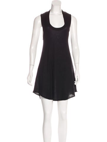 Alexander Wang Silk & Cashmere-Blend Dress None