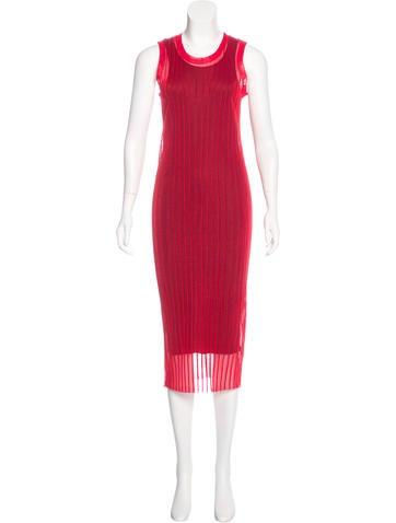 Alexander Wang Sleeveless Midi Dress None