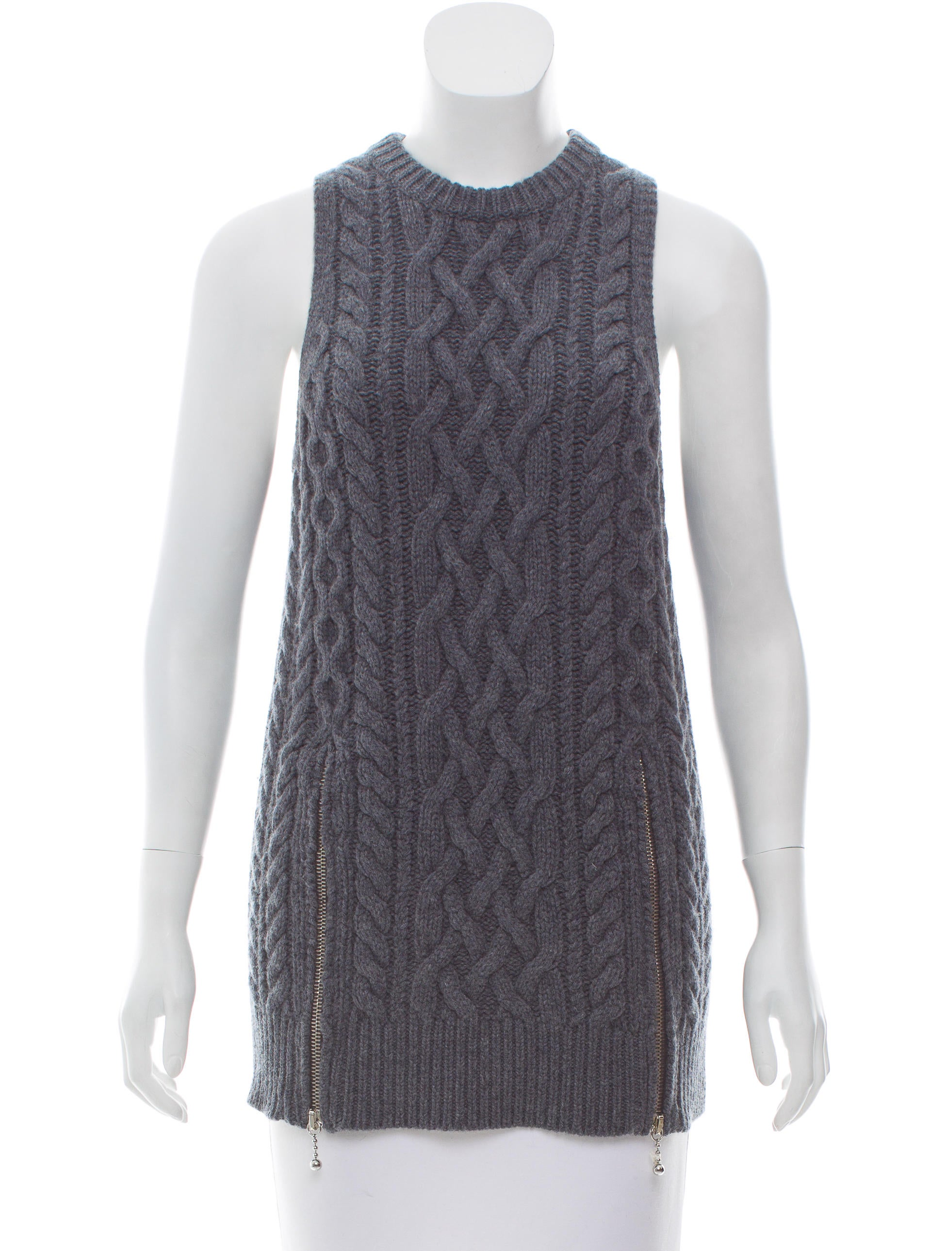 Alexander Wang Cable Knit Sleeveless Sweater W Tags Clothing