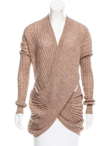 Alexander Wang Knit Crossover Tunic None