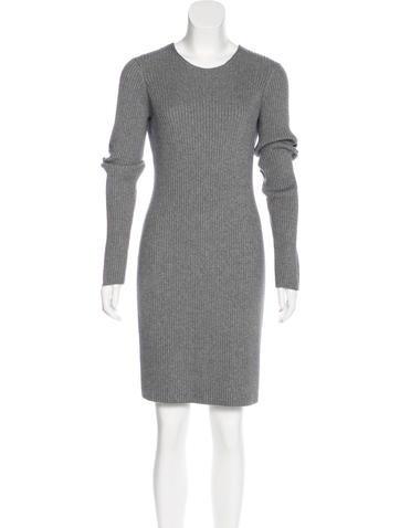 Alexander Wang Silk-Blend Sweater Dress None