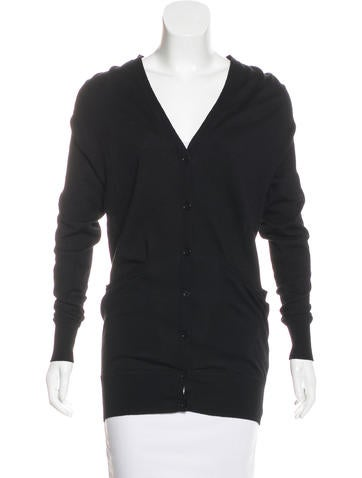 Alexander Wang Wool Cutout Cardigan None