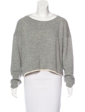 Alexander Wang Wool High-Low Sweater None