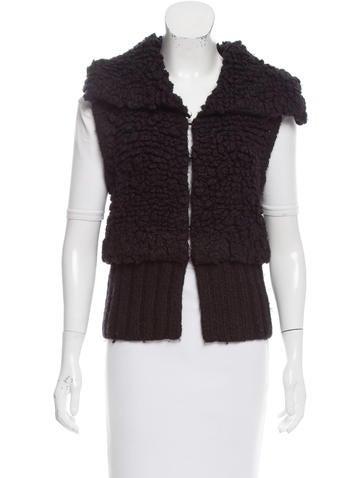 Alexander Wang Textured Knit Vest None