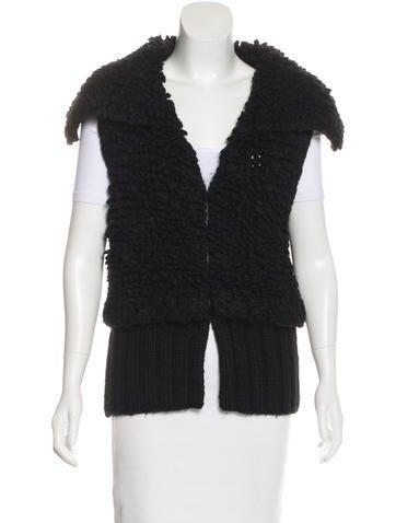 Alexander Wang Wool-Blend Knit Vest None