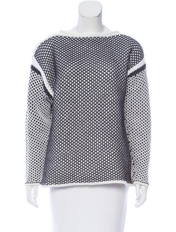 Alexander Wang Knit Long Sleeve Sweater None