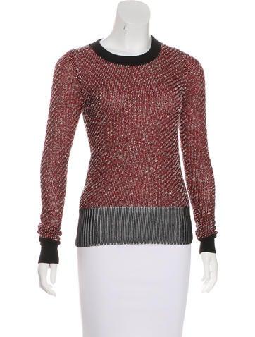 Alexander Wang Knit Crew Neck Sweater None
