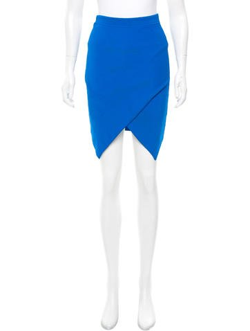 Alexander Wang Asymmetrical Bodycon Skirt None