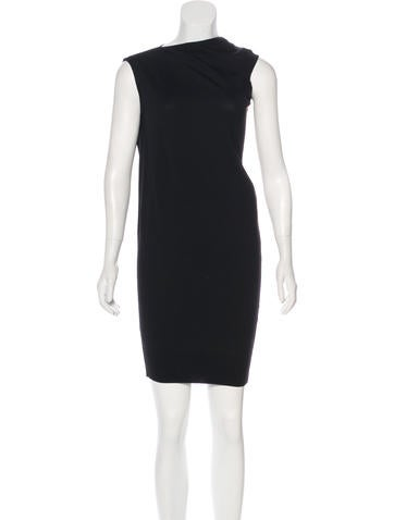 Alexander Wang Wool Asymmetrical Dress None