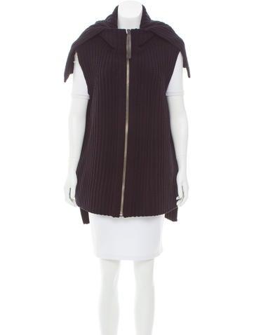 Alexander Wang Rib Knit Chenille Vest None