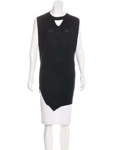 Alexander Wang Wool Sleeveless Top None