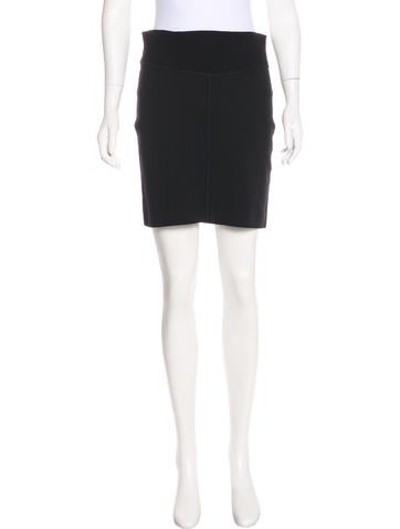 Alexander Wang Knit Pencil Skirt None