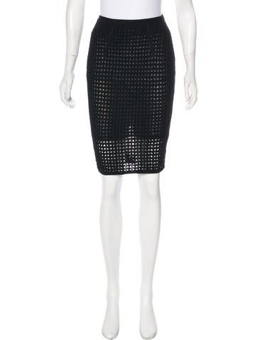 Alexander Wang Knee-Length Knit Skirt w/ Tags None