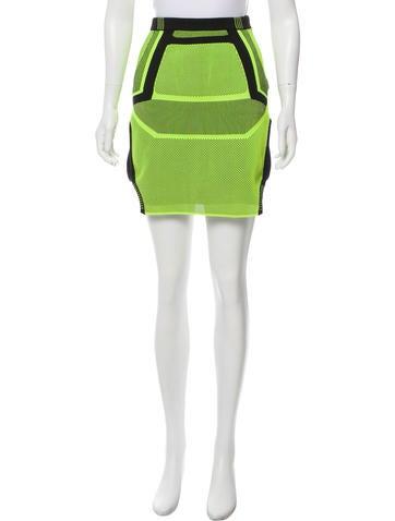 Alexander Wang Thunderbolt Mini Skirt None