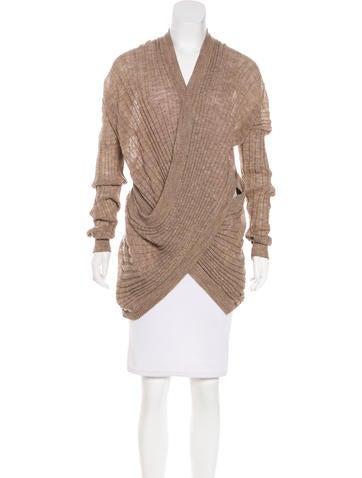 Alexander Wang Draped Knit Sweater None