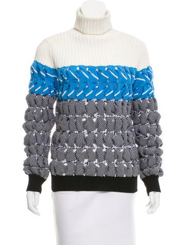 Alexander Wang Long Sleeve Turtleneck Sweater None