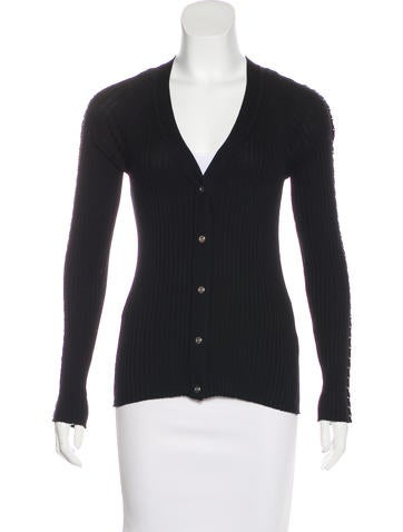 Alexander Wang 2016 Ring-Accented Cardigan None
