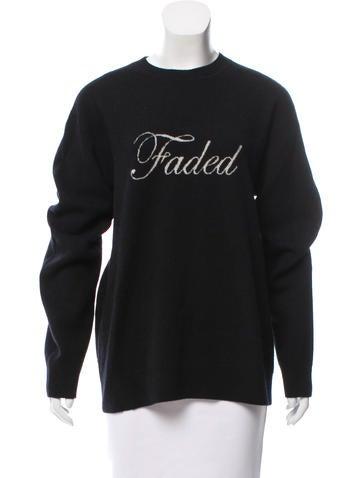 Alexander Wang Wool & Cashmere Sweater None