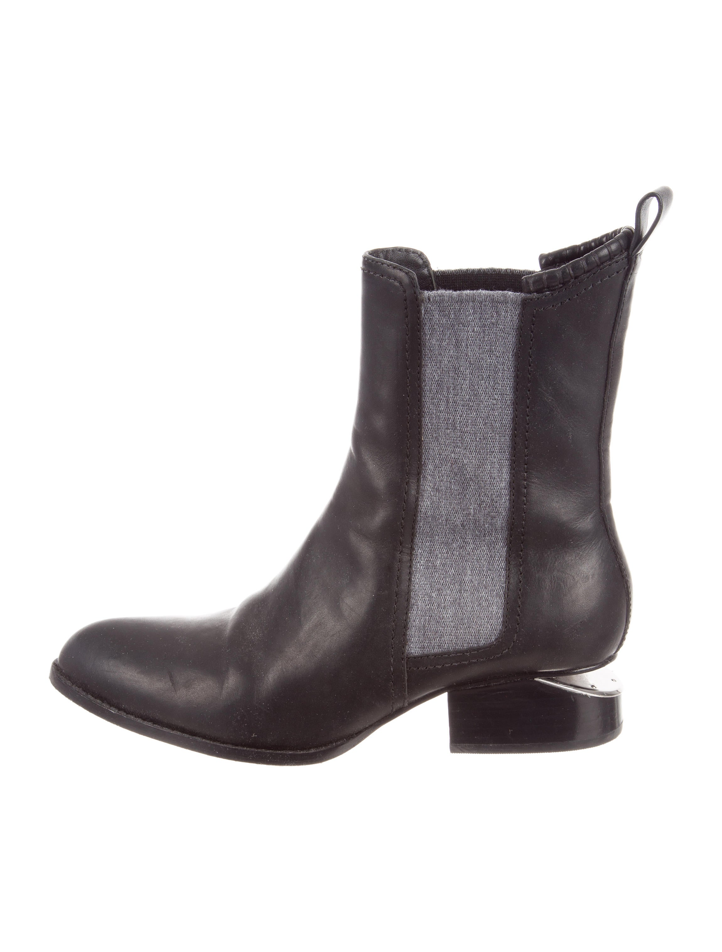 Alexander Wang Round-Toe Ankle Boots free shipping factory outlet 0PdYobn