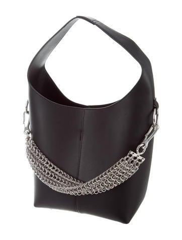 Alexander Wang Genesis Box Chain Leather Hobo - Handbags - ALX43941   The  RealReal 178dd14c66