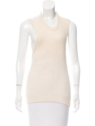Alexander Wang Halter Rib Knit Sweater None