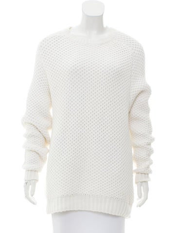 Alexander Wang Crew Neck Knit Sweater None