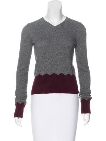 Alexander Wang Knit Long Sleeve Sweater None