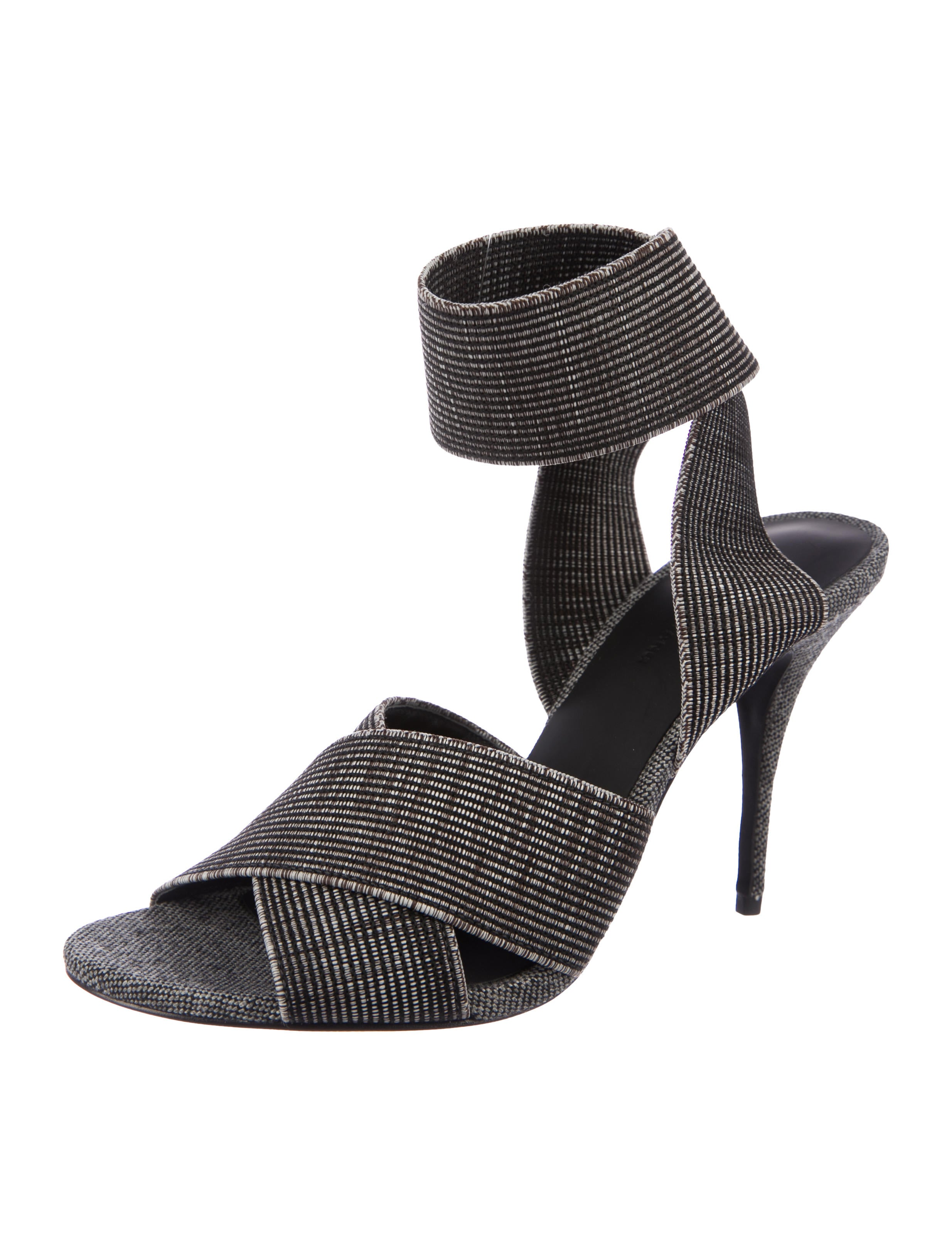 Alexander Wang Dana Crossover Sandals w/ Tags clearance new cheap sale footaction sale sneakernews outlet with paypal order online browse cheap online l7f2iwO