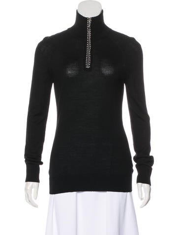 Alexander Wang Wool Knit Sweatshirt None