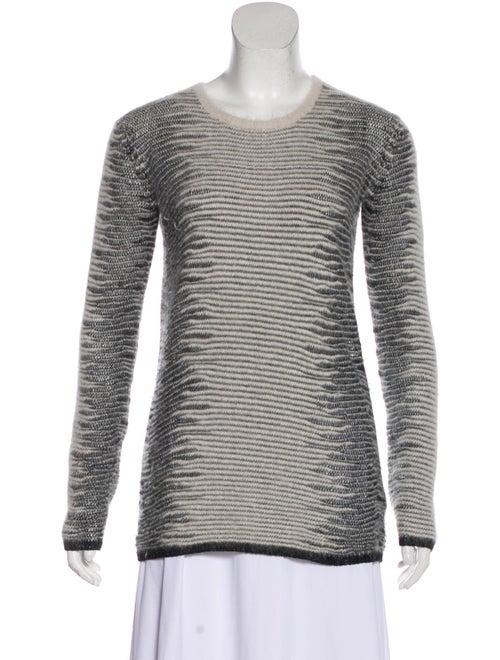 Alexander Wang Textured Knit Sweater White