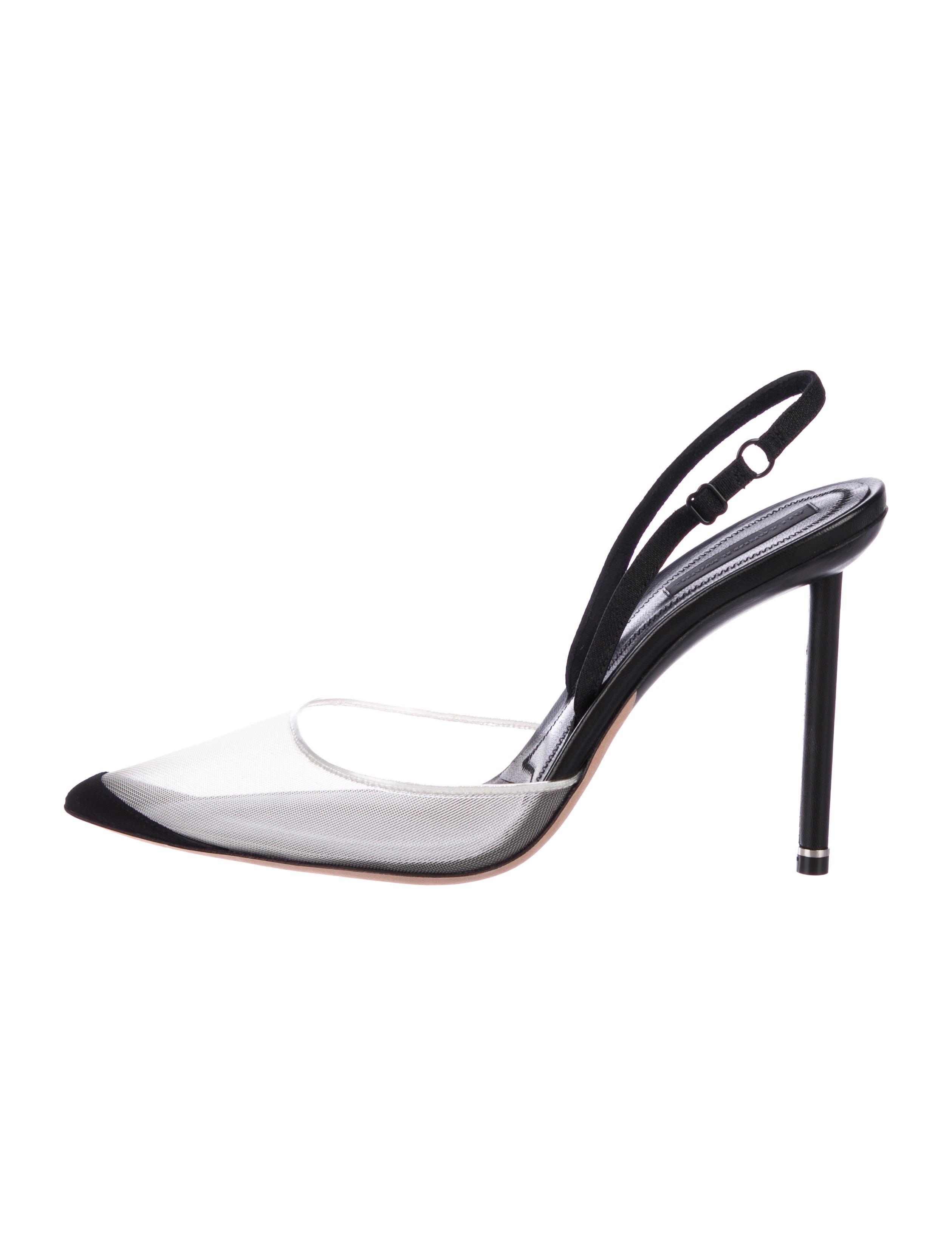 2226af4a2939 Alexander Wang Alix Slingback Pumps - Shoes - ALX51873
