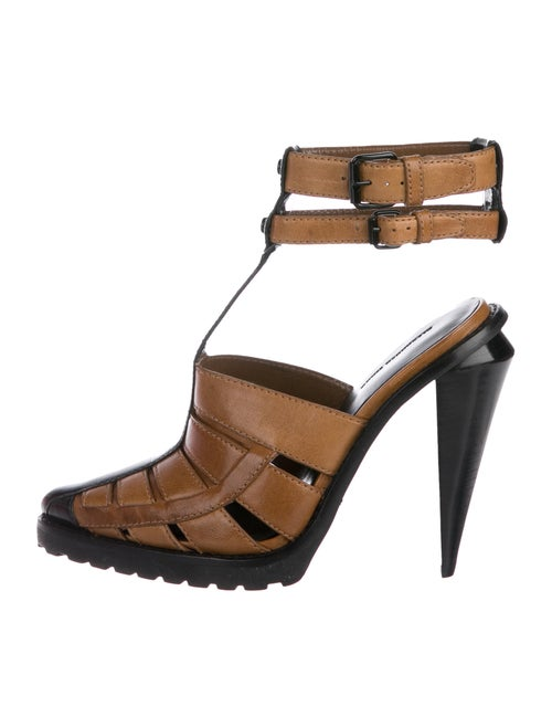 8c202ffa9071 Alexander Wang Abbey Leather Sandals - Shoes - ALX56966