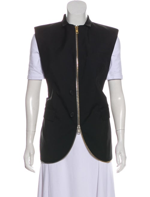 Alexander Wang Wool-Blend Vest Black