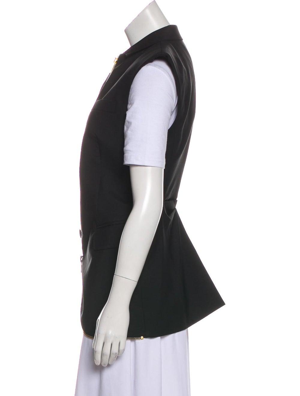 Alexander Wang Wool-Blend Vest Black - image 2