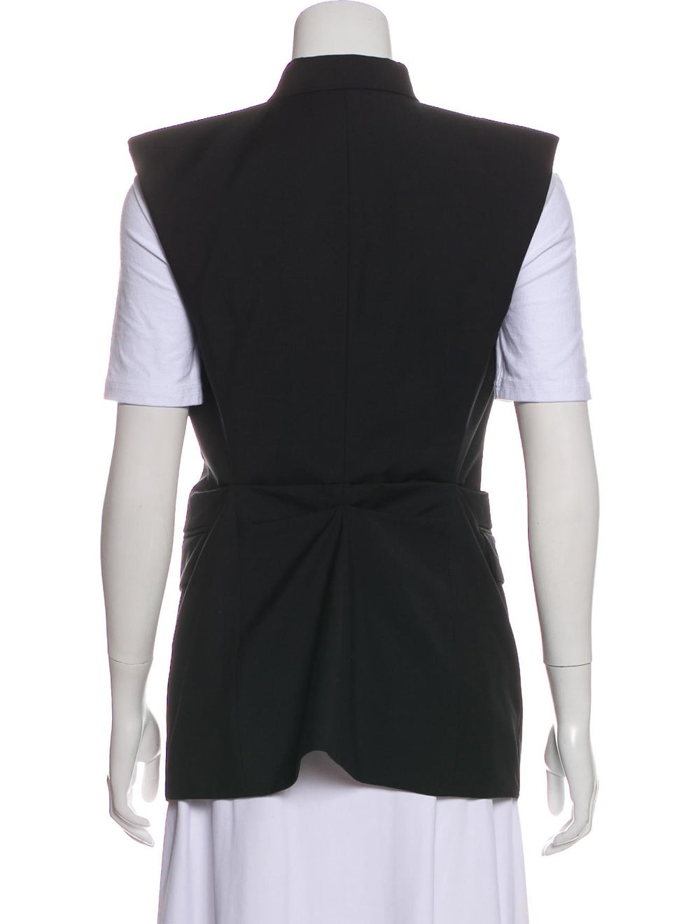 Alexander Wang Wool-Blend Vest Black - image 3