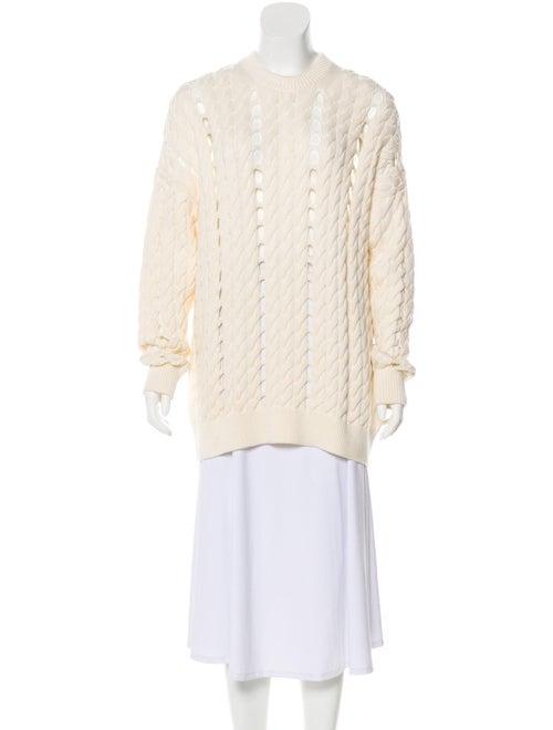 Alexander Wang Crochet Oversize Sweater