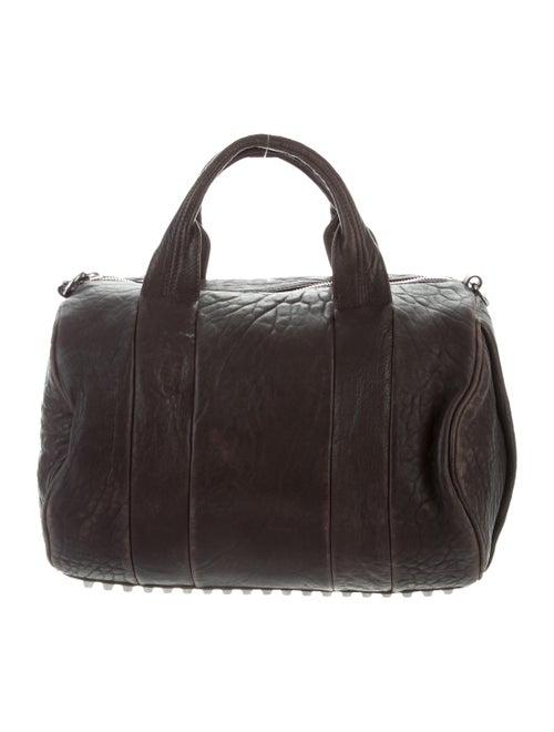 Alexander Wang Leather Rocco Duffel Bag Brown