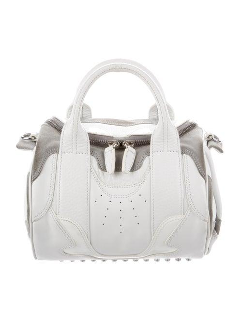 Alexander Wang Rockie Duffel Bag silver