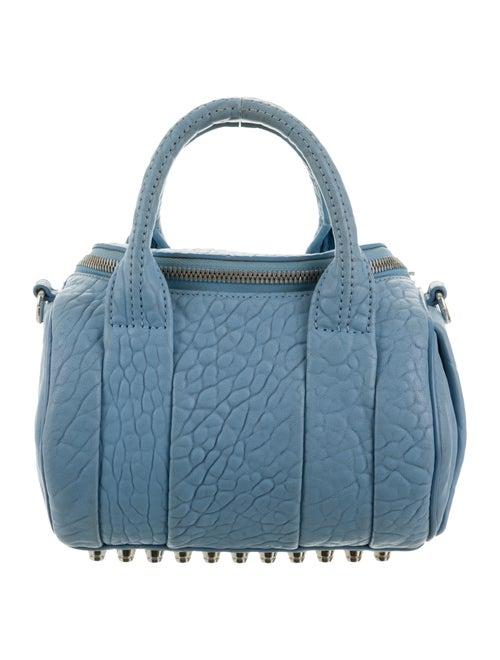 Alexander Wang Mini Rockie Duffel Bag silver