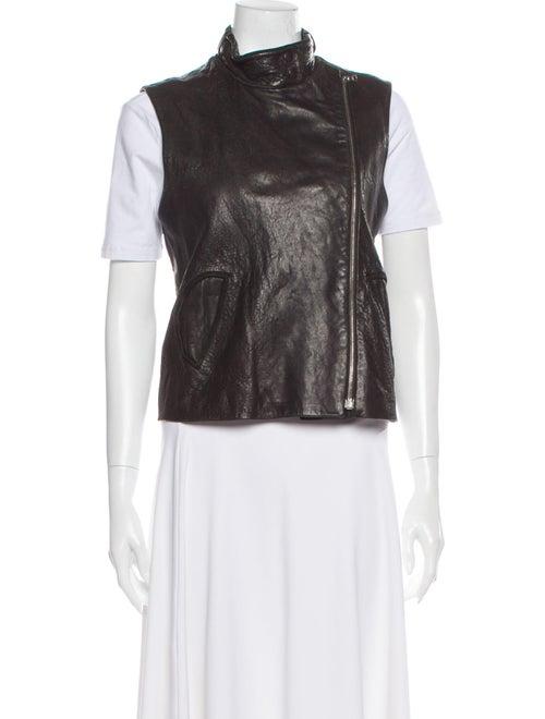 Alexander Wang Leather Vest Black