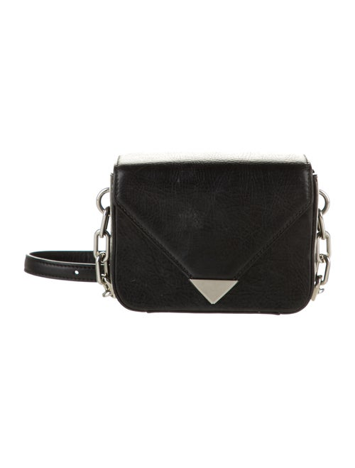 Alexander Wang Leather Shoulder Bag Black