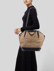 Alexander Wang Large Emile Burlap Tote - Handbags - ALX35724 | The RealReal