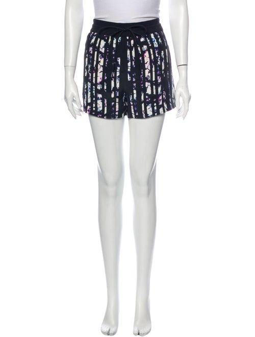 Alexander Wang Silk Mini Skirt Black