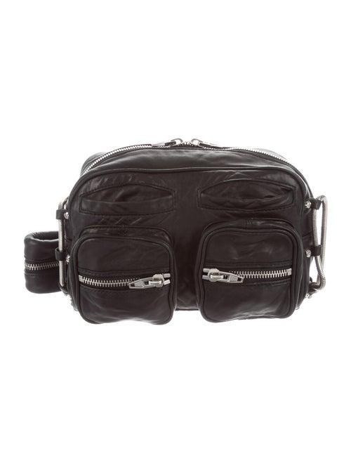 Alexander Wang Leather Shoulder Bag Black